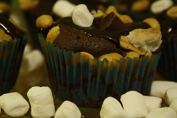 No diet here… Rocky-Road-Cupcakes