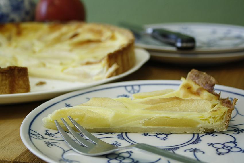 Elsässischer Apfelkuchen