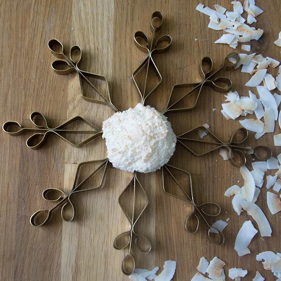 Kokosmakronen, Unter dem Pflaumenbaum, Weihnachtsbäckerei