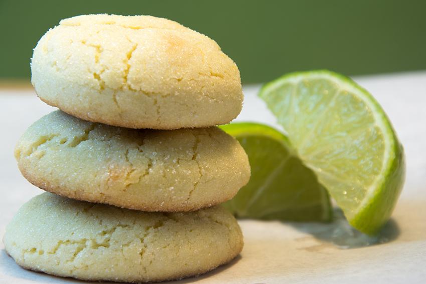 Wenn der Winter zu lange dauert… Limetten-Cookies mit weißer Schokolade