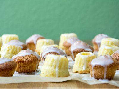 Easy Peasy Sommerrezept… Mandel-Zitronen-Mini-Gugel (und Cupcakes)