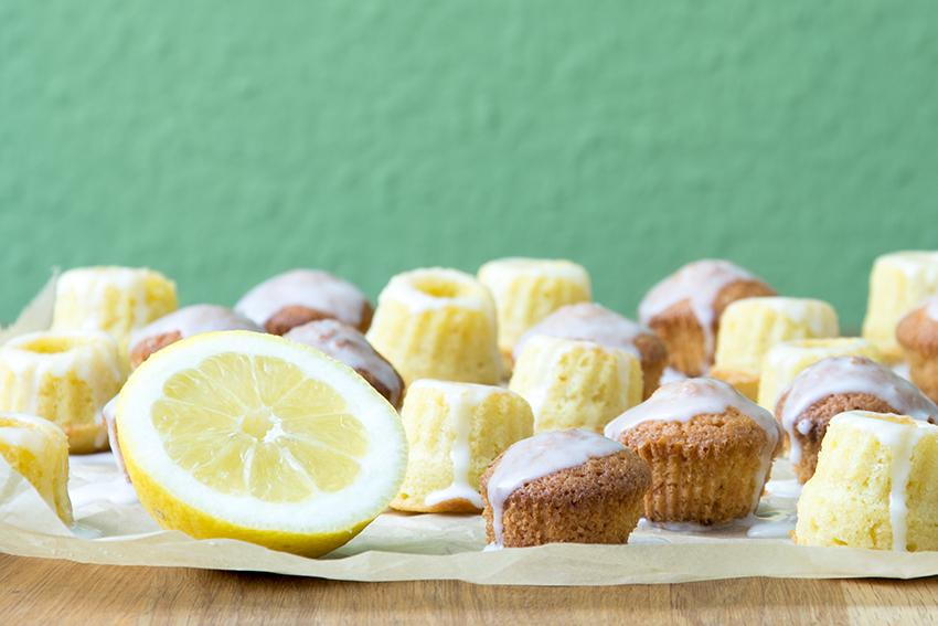 Unter dem Pflaumenbaum, Zitronen Gugel, Gugelhupf, Cupcakes, Sommerrezept