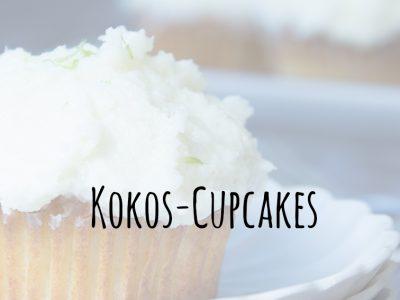 Sommerliche Kokos-Cupcakes