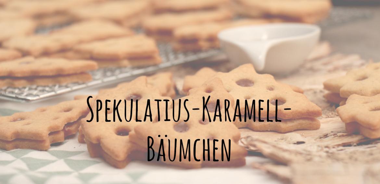 Spekulatius-Karamell-Bäumchen, heiß und innig, Unter dem Pflaumenbaum, Backblog