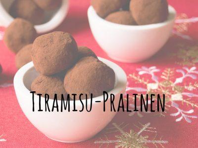 {Gastbeitrag} Tiramisu-Pralinen
