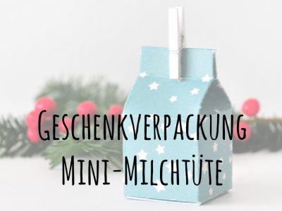 {Gastbeitrag} DIY Geschenkverpackung in der Mini-Milchtüte