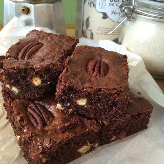 Brownies… zweifach schokoladig gut!