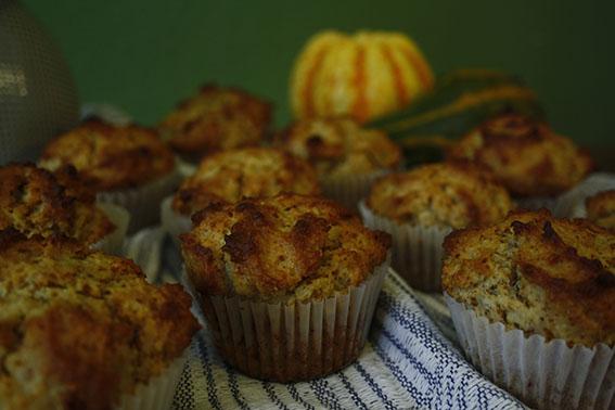 Ode an den Herbst… duftende Haselnuss-Honig-Muffins
