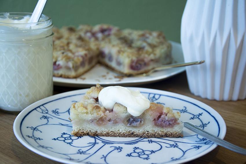 Saisonaler Klassiker… Stachelbeer-Streuselkuchen