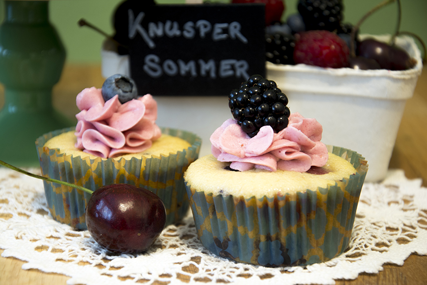 Very berry… Waldbeer-Buttermilch-Cupcakes