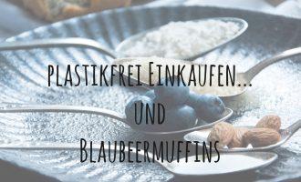 Plastikfrei einkaufen… und ein Rezept für easy peasy Blaubeermuffins
